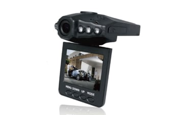 "F198 Car Dash Dvr With Night Vision, Microphone Built In, 2.5"" Rotatable"