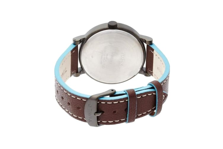 Timex Unisex Classic Watch (Brown/Blue)