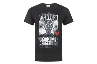 Fantastic Beasts And Where To Find Them Mens Wanded T-Shirt (Black)