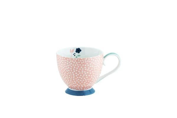 Anna Gare Elsie Jumbo Footed Mug Blue Foot