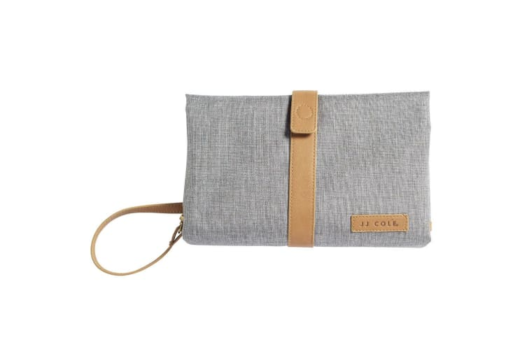 JJ Cole Baby Nappy/Diaper Changing Clutch Pad - Heather Grey