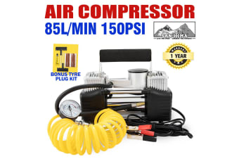 ATEM POWER 12V Air Compressor Tyre Deflator Inflator 4WD Car Truck Compact 85L/min Portable