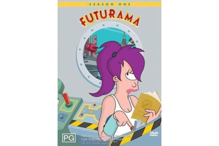 Futurama : Season 1  -Comedy Series Rare- Aus Stock DVD  PREOWNED: DISC LIKE NEW