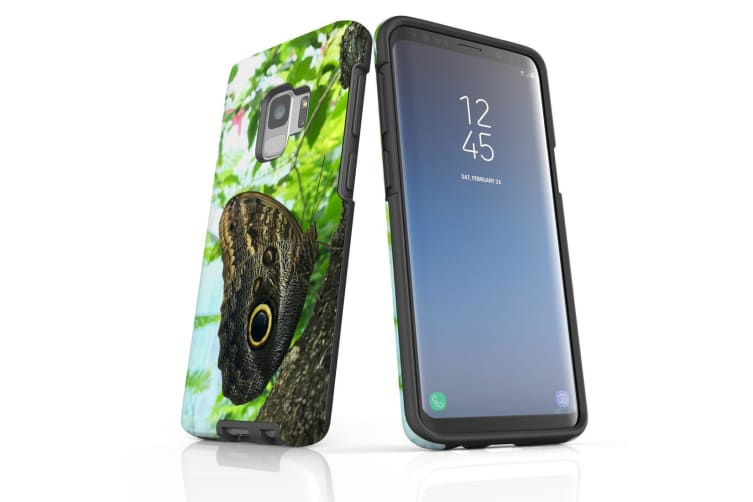For Samsung Galaxy S9 Case Armour Cover  Butterfly Tree