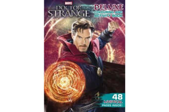 Marvel - Dr Strange Deluxe Colouring and Activity