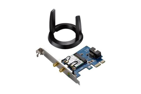 ASUS Dual Band Wireless AC1200 Bluetooth 4.0 PCI-E Adapter (PCE-AC55BT)
