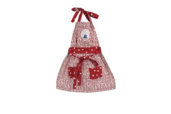 Ashdene Ruby Red Shoes Goes To London Apron