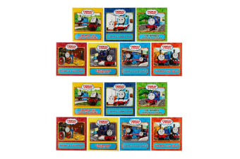 2x Generic Thomas & Friends 7-Book Collection Children Bed Story Paperback Books