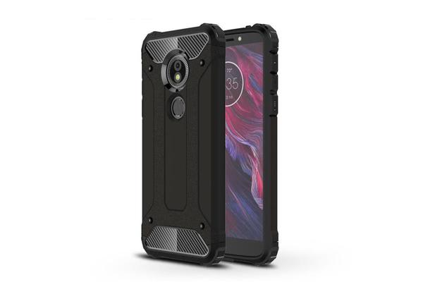 Generic Motorola Moto G6 Play/ Moto E5 Rugged Case Black