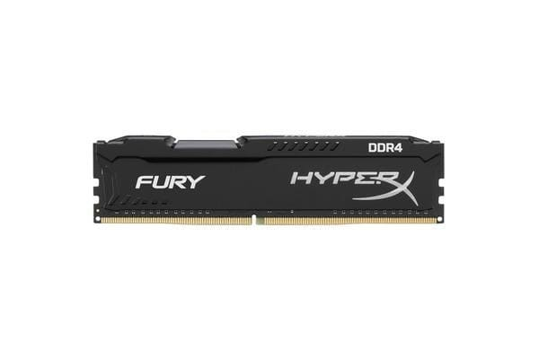 Kingston HyperX Fury 8GB (1 x 8GB) DDR4-2666MHz CL16 - Black (Intel XMP