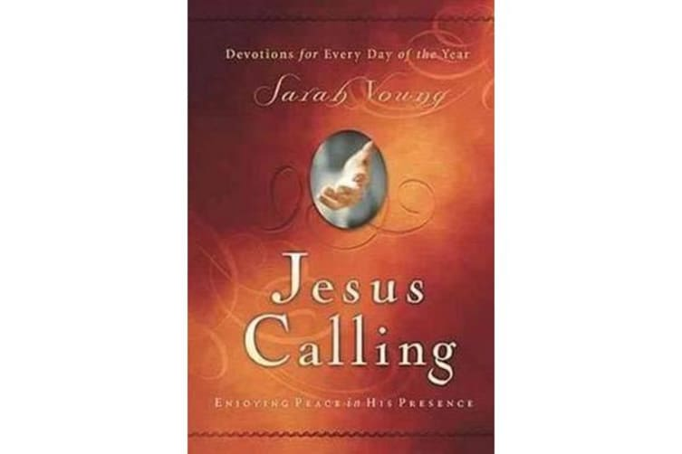 Jesus Calling (Large Print Leathersoft) - Enjoying Peace in His Presence (with Full Scriptures)