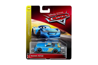 Disney Cars 3 Michael Rotor Diecast Toy Car