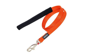Red Dingo Plain Dog Lead (Orange)
