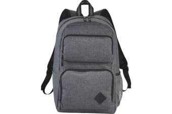 Avenue Graphite Deluxe 15.6in Laptop Backpack (Heather Grey) (29 x 16.5 x 45cm)