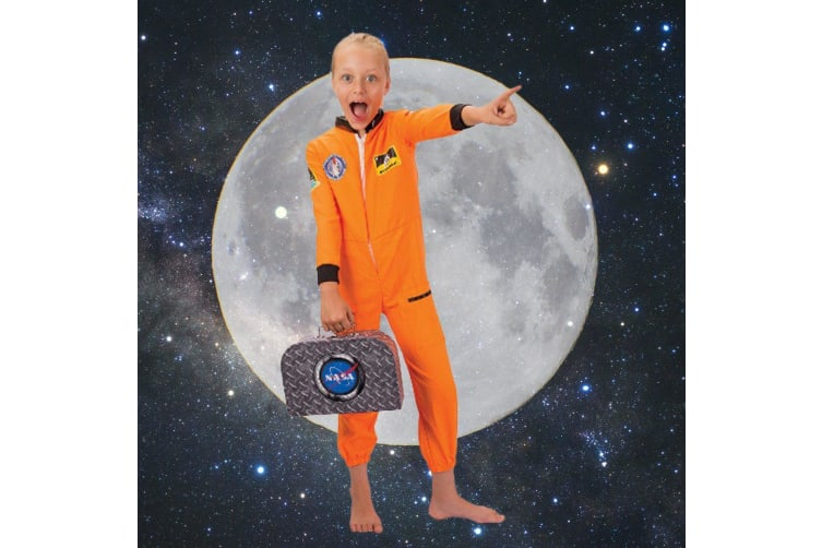NASA Kids Jumpsuit & Space Kit - 2 Sizes - Small (3-4 years)