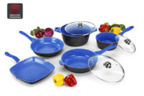 Ovela 8 Piece BlueStone Non-Stick Induction Cookware Set