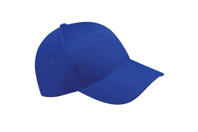 Beechfield Unisex Ultimate 5 Panel Baseball Cap (Pack of 2) (Bright Royal) (One Size)
