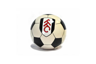 Fulham FC Official Football Money Box (Black/White/Red) (One Size)
