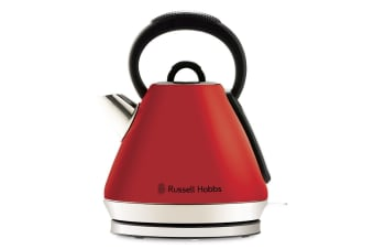 Russell Hobbs Heritage Vogue Kettle - Red (RHK52RED)