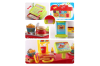Kids Fast Food Shop Play Set w/ Remote Control/Lights/Music Children Learn Toy