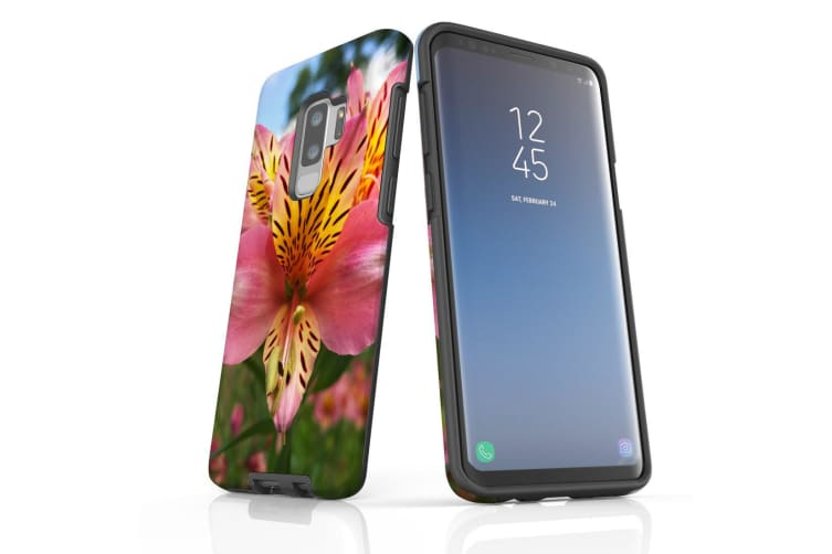 For Samsung Galaxy S9+ Plus Case Armour Cover  Flowering