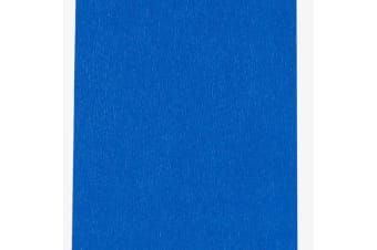 County Stationery Blue Crepe Paper (Pack Of 12) (Blue)