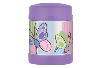 Thermos Funtainer 290ml Food Jar Stainless Steel Hot Cold Vacuum Flask Butterfly