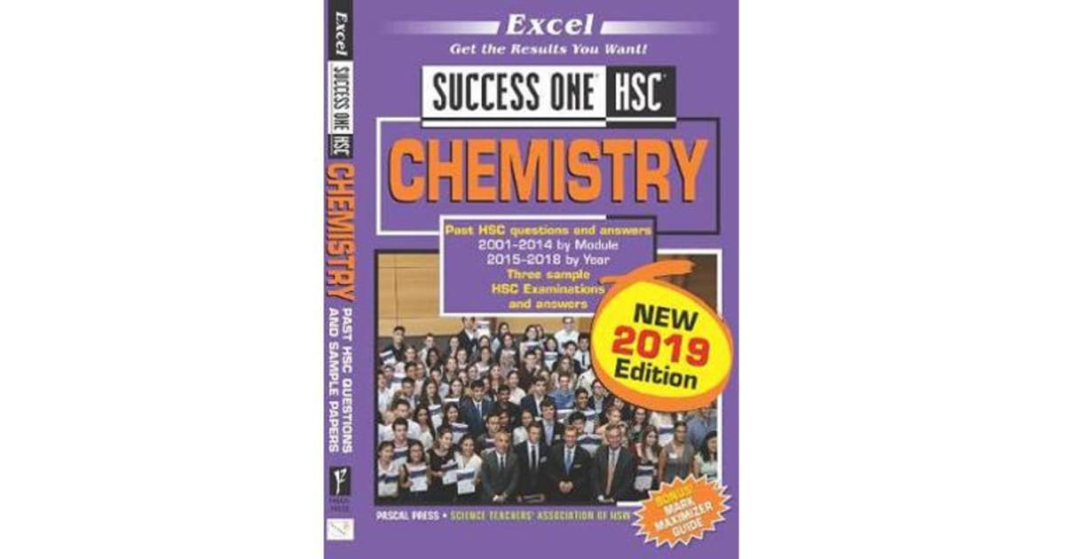 Excel Success One HSC Chemistry 2019 Edition by 2019 Edit | 9781741256932 |  2019 | Kids & Children > Educational Material |