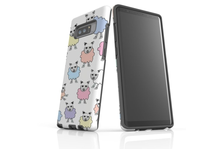 For Samsung Galaxy Note 8 Case Tough Slim Protective Cover Sheep