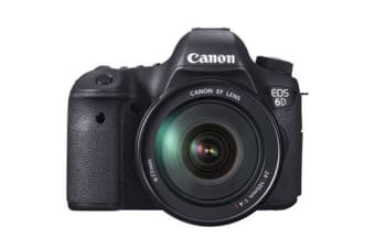 New Canon EOS 6D with EF 24-105mm IS STM Lens kit (FREE DELIVERY + 1 YEAR AU WARRANTY)