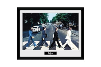 The Beatles Abbey Road Framed Picture (Multicoloured)