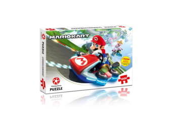 Mario Kart 1000pc 683mm Puzzle Jigsaw Game w/ Poster 14y+ Family/Kids/Adult