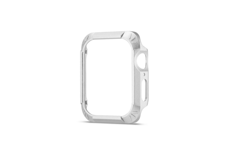 2 In 1 Lightweight Protective Protector Bumper Watch Case 44Mm 40Mm Iwatch Series 4 Silver 44Mm