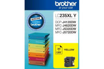 Brother LC-235XL Yellow Ink 1200 Page, J4120/4620/5720DW