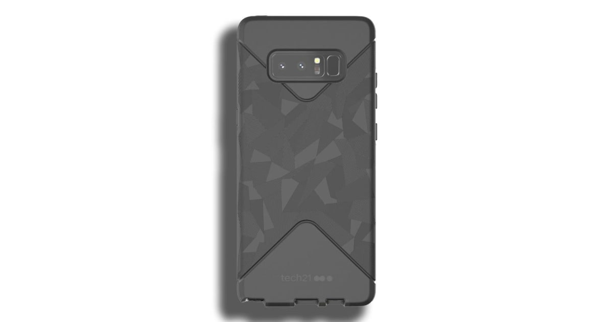 uk availability c95c1 4cbd1 Tech21 Evo Tactical Case for Samsung Note 8 - Black | Phone Cases