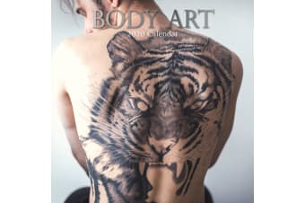 Body Art - 2020 Wall Calendar 16 month Premium Square 30x30cm (CC)
