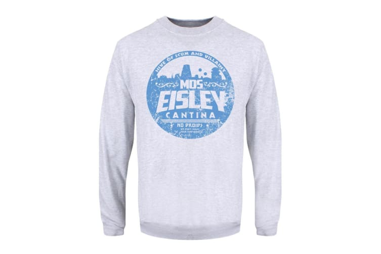 Grindstore Mens Mos Eisley Cantina Sweater (Grey) (XL)