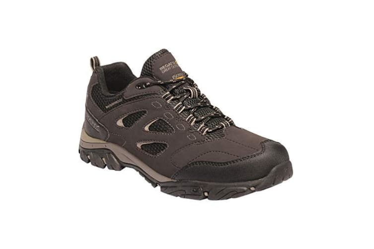 Regatta Mens Holcombe IEP Low Hiking Boots (Peat/Gold Fawn) (9.5 UK)