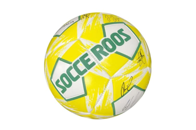 Summit Global Heritage Socceroos Soccer/Football Sports Ball Size 1 w/ Signature