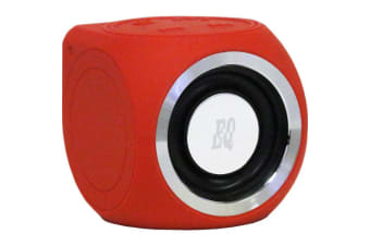 Equatic Micro Speaker Red Wireless And Water Resistant
