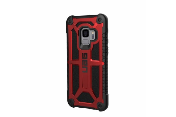 UAG Monarch Case for Galaxy S9 (Crimson)