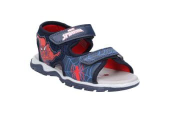 Spider-Man Boys Touch Fastening Sandal (Navy)
