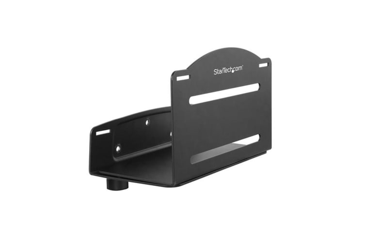 StarTech CPUWALLMNT CPU Mount - Adjustable Width 4.8in to 8.3in - Metal - Computer Wall Mount - PC