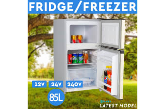 85L Portable Freezer Fridge 12V/24V/240V Camping Car Boating Caravan Bar Fridge