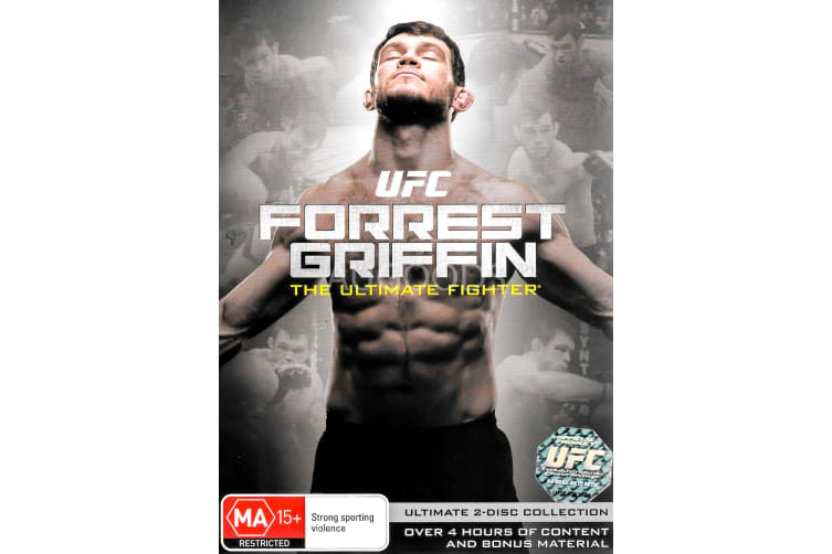 UFC Forrest Griffin The Ultimate Fighter - Region 4 Rare- Aus Stock Preowned DVD: DISC LIKE NEW