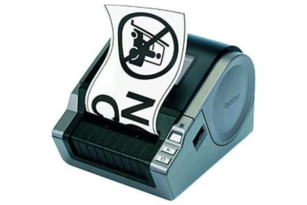 Brother QL1050 Paper Label Printer LCD Display up to 102mm label height