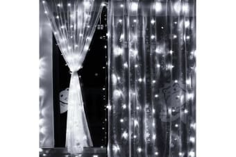 Led Curtain Lights Wedding Indoor Outdoor Christmas Garden Party COOL WHITE