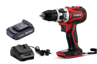 Certa PowerPlus 18V Cordless Brushless Drill Kit
