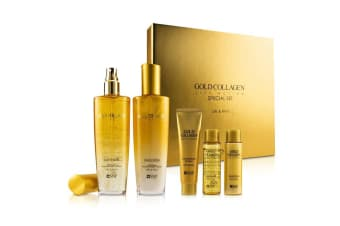 SNP Gold Collagen Lift Action Special Set - Lifts & Firms 5pcs