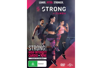 Strong By Zumba DVD Region 4